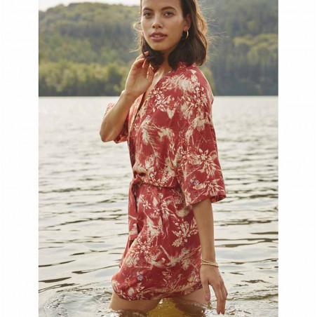 Minus Kimono, Sunja, Palm Print model
