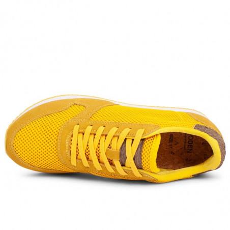 Woden Sneakers, Ydun Mesh NSC, Super Lemon woden sko dame woden sneakers dame top