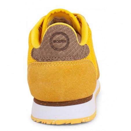 Woden Sneakers, Ydun Mesh NSC, Super Lemon woden sko dame woden sneakers dame bagside
