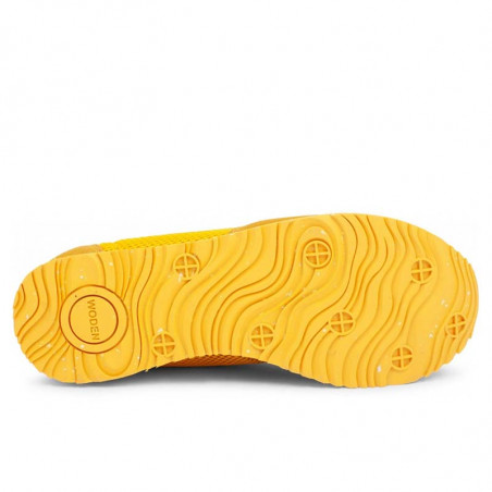 Woden Sneakers, Ydun Mesh NSC, Super Lemon woden sko dame woden sneakers dame bund