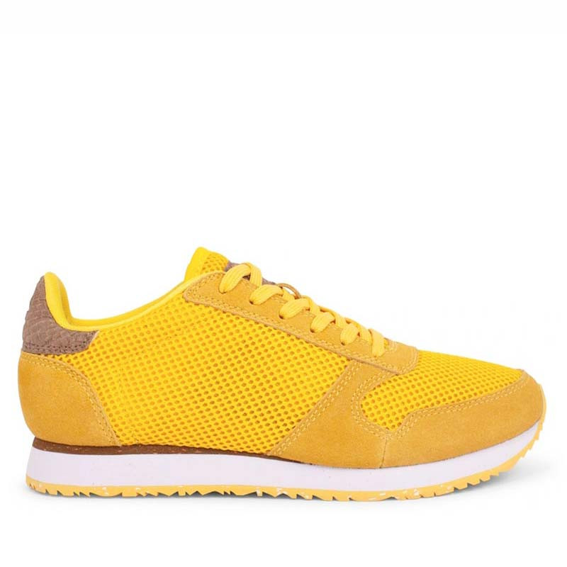 Woden Sneakers, Ydun Mesh NSC, Super Lemon woden sko dame woden sneakers dame
