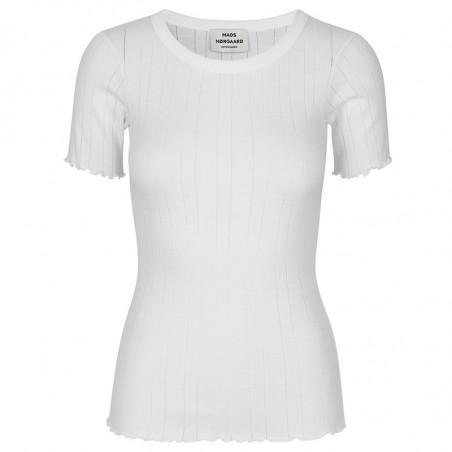 Mads Nørgaard T-shirt, Pointella Trixa, White Mads Nørgaard T shirt
