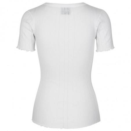 Mads Nørgaard T-shirt, Pointella Trixa, White Mads Nørgaard T shirt bagfra