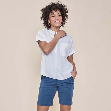 Mos Mosh Shorts, Marissa Air, Dark Blue - Mos Mosh forhandler - Detaljer