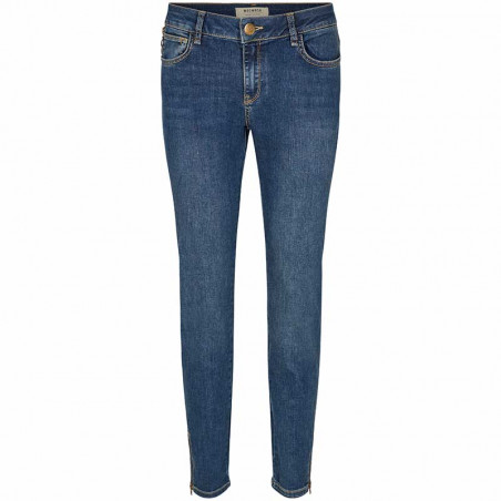 Mos Mosh Jeans, Victoria Favourite, Blue Denim bukser Mos Mosh bukser