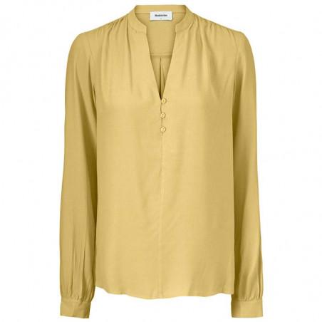 Modström Bluse, Connor, Misty Yellow, bluser til kvinder, modstrøm, modstrøm tøj