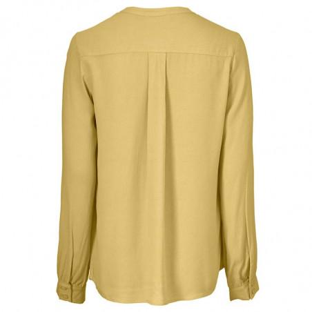 Modström Bluse, Connor, Misty Yellow, bluser til kvinder, modstrøm, modstrøm tøj - Bagside
