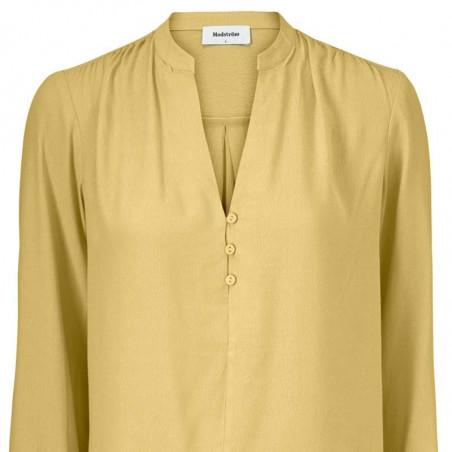 Modström Bluse, Connor, Misty Yellow, bluser til kvinder, modstrøm, modstrøm tøj - detalje