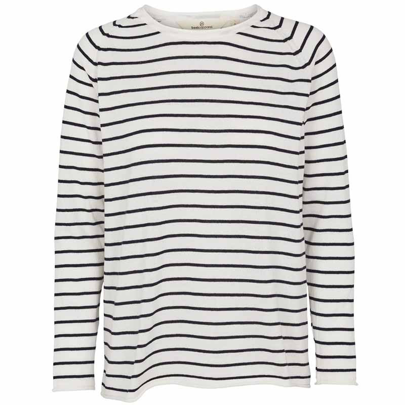Basic Apparel Strik, Soya Stripe, Navy, basic apparel