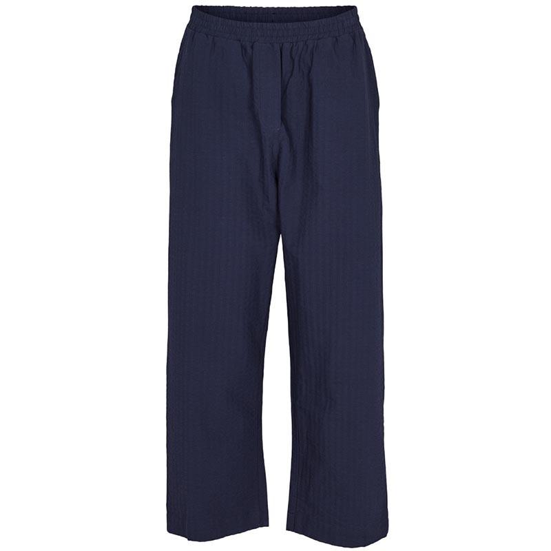 Basic Apparel Bukser, Joan, Navy, basic apparel