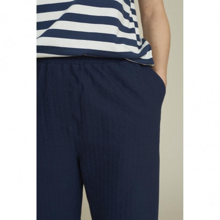 Basic Apparel Bukser, Joan, Navy, basic apparel - Front