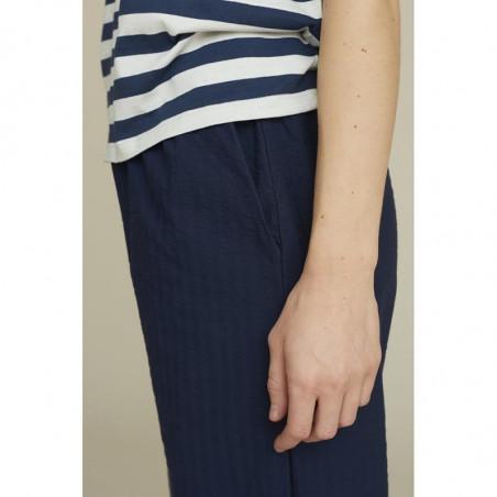 Basic Apparel Bukser, Joan, Navy, basic apparel  - Detalje