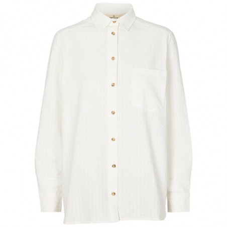 Basic Apparel Skjorte, Joan, Off White - basic apparel