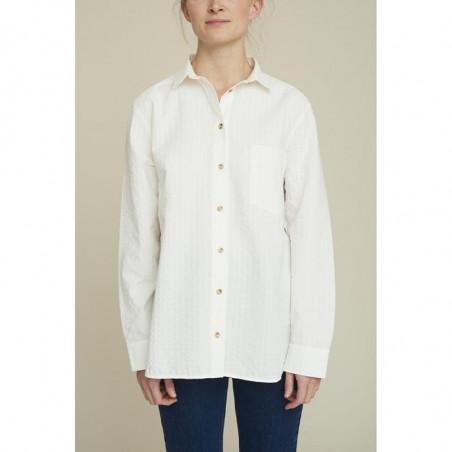 Basic Apparel Skjorte, Joan, Off White - basic apparel  - Model