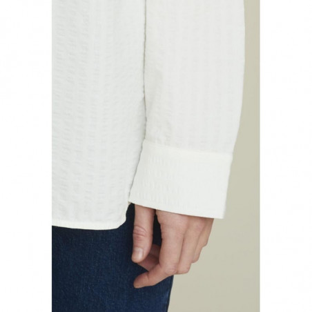 Basic Apparel Skjorte, Joan, Off White - basic apparel - detalje