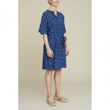 Basic Apparel Kjole, Fleur, Mid Blue, basic apparel - Model