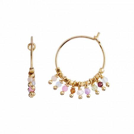 Stine A Ørering, Petit Rainbow Hoop, Pastel Mix stine a smykker stine a øreringe stine a jewelry stine a forhandler