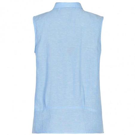 Nümph Skjorte, Nuboheme, Airy Blue, numph - bagside