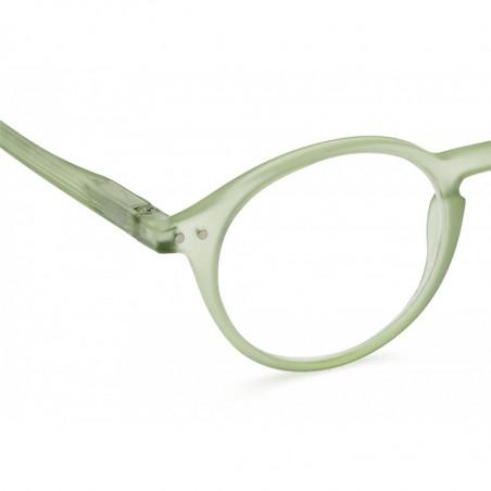 Izipizi Briller, D Reading, Læsebriller i Peppermint detalje