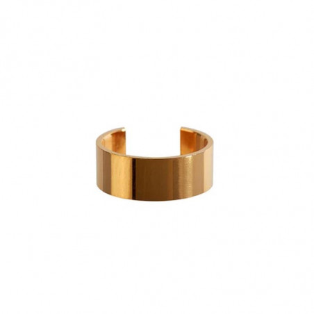 Scherning Øreringe, Cut Cuff, Gold