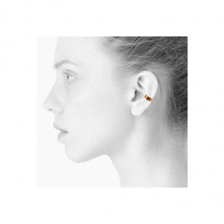 Scherning Cut Cuff øreringe i Guld. dansk design