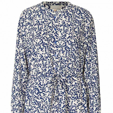 Lollys Laundry Kjole, Anastacia, Flower Print lollys laundry forhandler københavn detalje