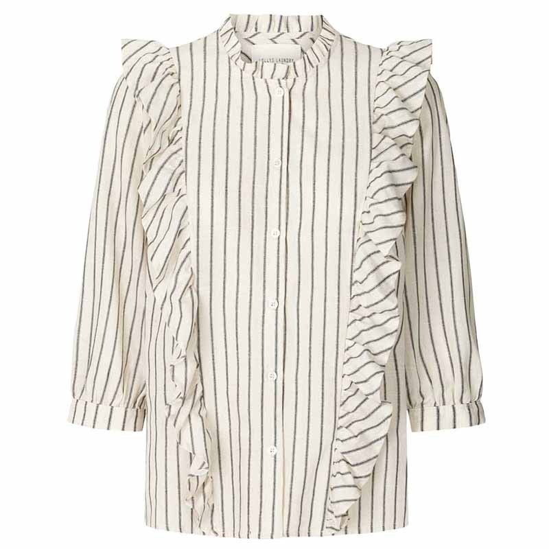 Lollys Laundry Skjorte, Hanni, White Lollys Laundry bluse Lollys Laundry top