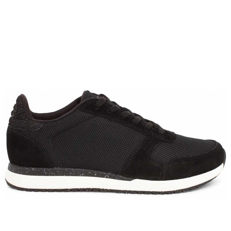 Woden Sneakers dame Ydun Fifty, Black woden sko dame woden