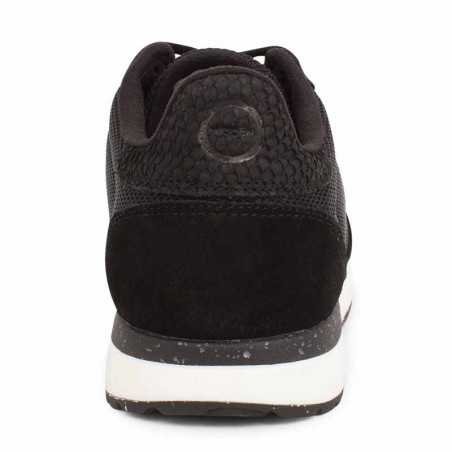 Woden Sneakers dame Ydun Fifty, Black woden sko dame woden bagside