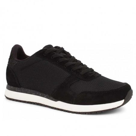 Woden Sneakers dame Ydun Fifty, Black woden sko dame woden side