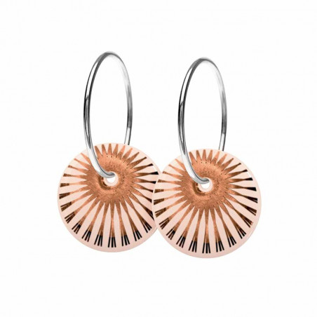 Scherning Øreringe, Splash, Nude/Bronze scherning øreringe scherning smykker scherning ørestikker scherning øreringe forhandlere
