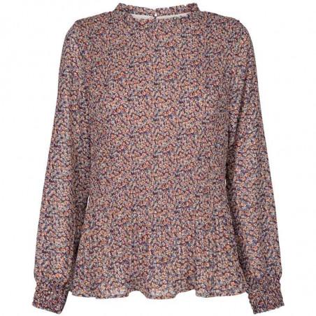 Minus Bluse, Vallie, Fiery Flower minus tøj online