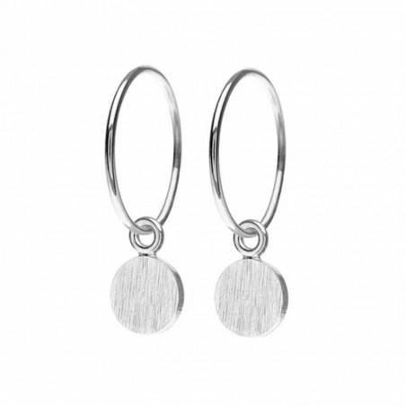Scherning Øreringe forhandlere, Spot, Sølv scherning smykker