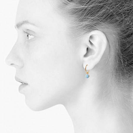 Scherning Øreringe forhandlere, Spot, Lilac Scherning smykker model