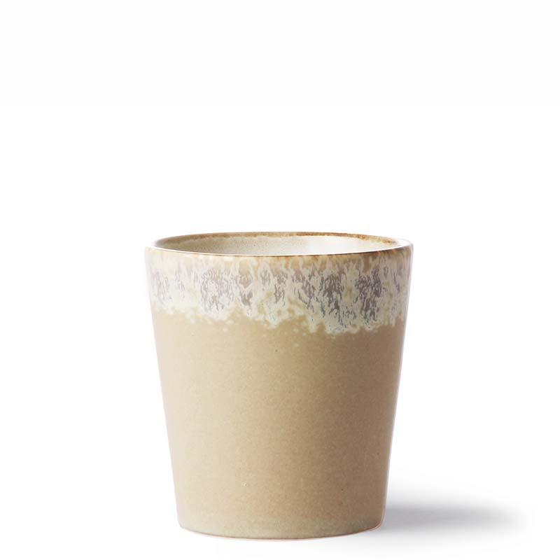 Hk living krus, ceramic 70's, bark fra hk living fra superlove