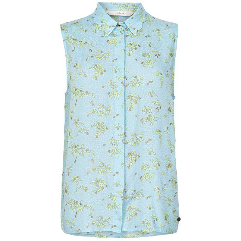 Nümph Skjorte, Nuailbhe bluse i Airy Blue