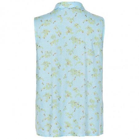 Nümph Skjorte, Nuailbhe bluse, Airy Blue bagfra