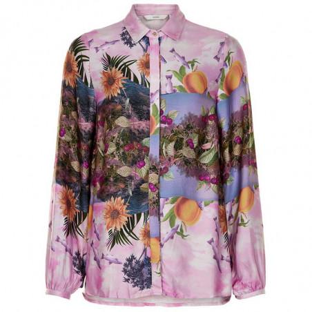 Nümph Skjorte, Nubayleah, Lilac Sac numph skjorte