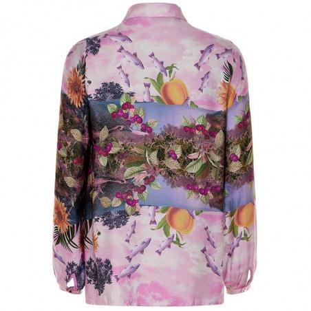 Nümph Skjorte, Nubayleah, Lilac Sac numph skjorte bagside