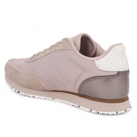 Woden Sneakers dame, Nora III, Bark woden sko dame woden nora fra siden