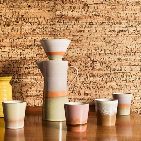 HK Living Krus, Ceramic 70's, Snow HK Living Danmark hjemme