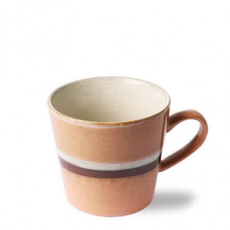 HK Living Krus, Ceramic 70's Cappuccino, Stream Keramik krus