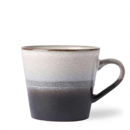 HK Living Krus, Ceramic 70's Cappuccino, Rock Keramik krus