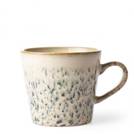 HK Living Krus, Ceramic 70's Cappuccino, Hail Keramik kop