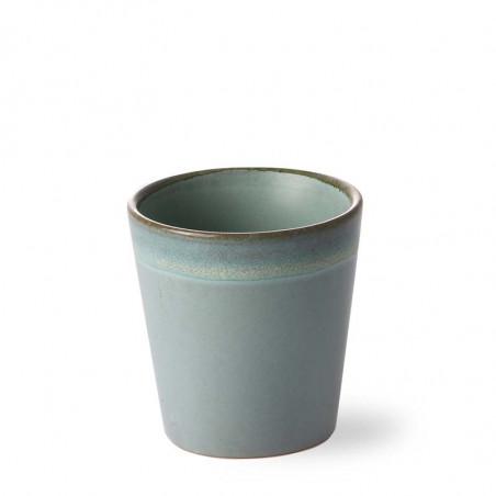 HK Living Krus, Ceramic 70's, Moss Keramik krus