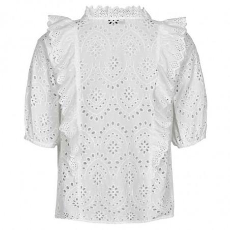 Nümph skjorte, Nublessing, B White fra ryggen Numph tøj