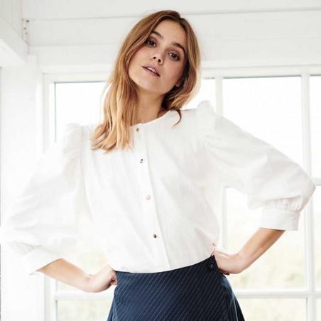 Nümph Bluse, Nubunny, B White numph bluse nümph skjorte numph skjorte model