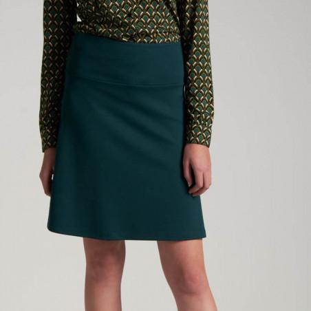 King Louie Nederdel, Border Milano, Pine Green  Border skirt