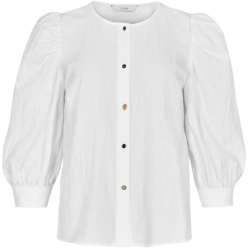 Nümph Bluse, Nubunny, B White numph bluse nümph skjorte numph skjorte