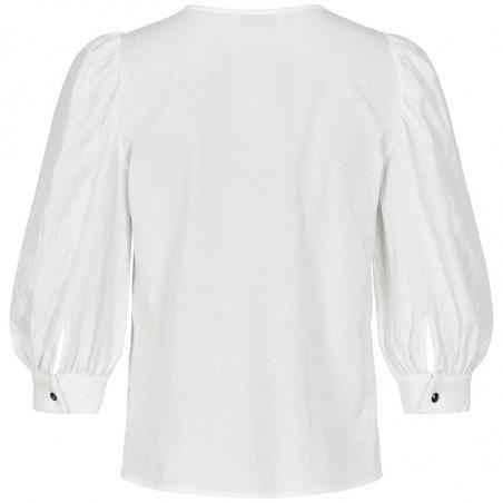 Nümph Bluse, Nubunny, B White numph bluse nümph skjorte numph skjorte bagside